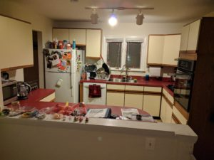 Current 1979 kitchen